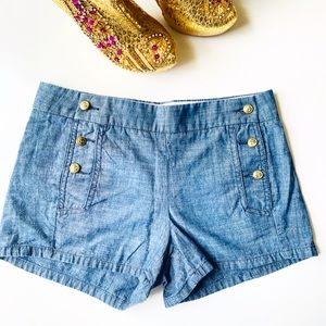 J. CREW Sailor Jean Shorts